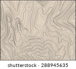 topographic map with contour... | Shutterstock .eps vector #288945635