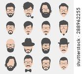 Set Of Hipster Avatars For...