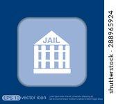 jail prison icon. symbol of...   Shutterstock .eps vector #288965924