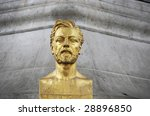Small photo of Alexandre Gustave Eiffel bust
