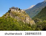 13th century castle atop a... | Shutterstock . vector #288980555