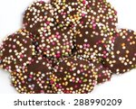 Chocolate Buttons With Sprinkles