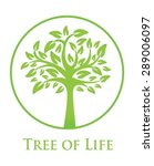 symbol of the tree of life   Shutterstock .eps vector #289006097