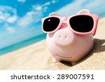 money  savings  bank. | Shutterstock . vector #289007591