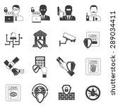internet banking secure... | Shutterstock .eps vector #289034411