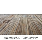 Close Up Wooden Decking And...