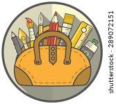tool bag icon   Shutterstock .eps vector #289072151