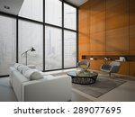 Interior Of The Room With...