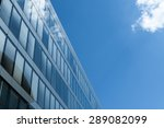business office with sky and... | Shutterstock . vector #289082099