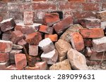 Pile Of Bricks By An Old Brick...
