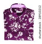 flowers shirt | Shutterstock . vector #28910212