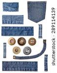 Denim Jeans Parts