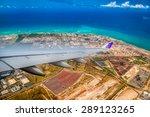 Approaching Honolulu...