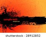 grunge banner vector | Shutterstock .eps vector #28912852