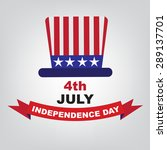 independence day american 4 th... | Shutterstock .eps vector #289137701