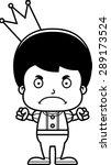 a cartoon prince boy looking... | Shutterstock .eps vector #289173524