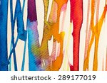 hires close up water color... | Shutterstock . vector #289177019