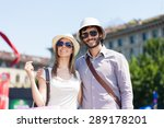couple doing shopping in a... | Shutterstock . vector #289178201