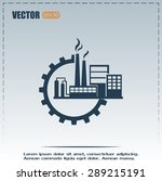 industrial icon | Shutterstock .eps vector #289215191