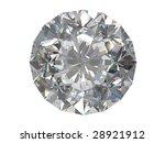 diamond isolated on white... | Shutterstock . vector #28921912