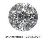 diamond isolated on white... | Shutterstock . vector #28921924