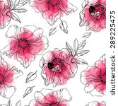 Flower Wild Rose  Leaves And...