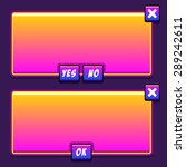 space game interface panels ui...