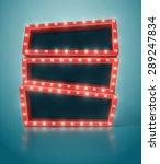 three retro banners  eps 10   Shutterstock .eps vector #289247834