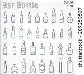 vector illustration of bar... | Shutterstock .eps vector #289250507