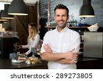 successful small business owner ... | Shutterstock . vector #289273805