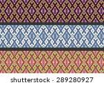 geometric ethnic pattern design ... | Shutterstock .eps vector #289280927