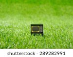 retro vintage tv | Shutterstock . vector #289282991