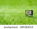 retro vintage tv | Shutterstock . vector #289283015