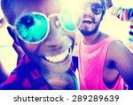 friends friendship vacation... | Shutterstock . vector #289289639