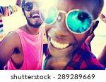 friends friendship vacation... | Shutterstock . vector #289289669