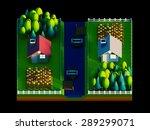 green earth concept in... | Shutterstock . vector #289299071