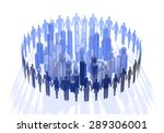 person from building group | Shutterstock . vector #289306001