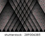 geometric ethnic pattern design ... | Shutterstock .eps vector #289306385