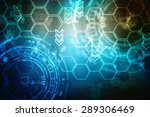 digital abstract business... | Shutterstock . vector #289306469