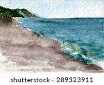 Watercolor Drawing Landscape...