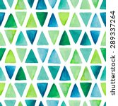 seamless pattern with hand... | Shutterstock . vector #289337264