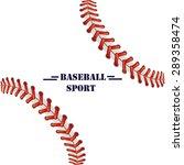 baseball illustration... | Shutterstock .eps vector #289358474