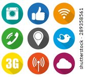Icons For Social Networking...