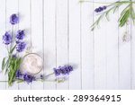 cosmetic cream and lavender...   Shutterstock . vector #289364915