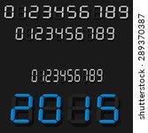 digital clock   Shutterstock .eps vector #289370387