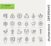 thin line icons set. icons for... | Shutterstock .eps vector #289390445