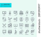 thin line icons set. icons for... | Shutterstock .eps vector #289390997