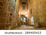 stone old city jaffa in tel aviv   Shutterstock . vector #289405415