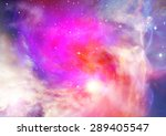 far being shone nebula and star ... | Shutterstock . vector #289405547