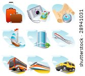 vector illustration   travel... | Shutterstock .eps vector #28941031